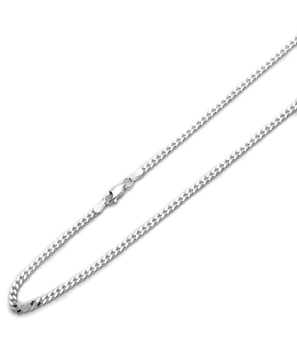 Sterling Silver Italian Solid Necklace
