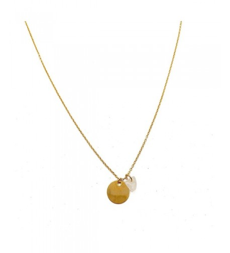 HONEYCAT Moonstone Necklace Minimalist Delicate