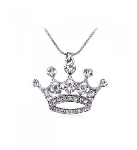 Alilang Crystal Rhinestone Emperor Necklace