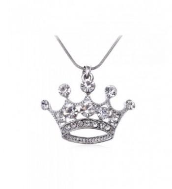 Alilang Crystal Rhinestone Emperor Necklace