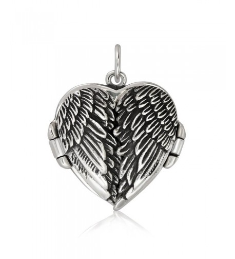 WithLoveSilver Sterling Silver Feather Pendant