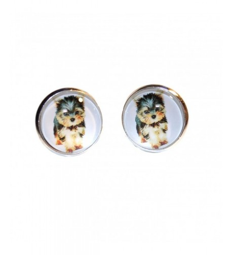 Yorkie Yorkshire Terrier Post Earrings