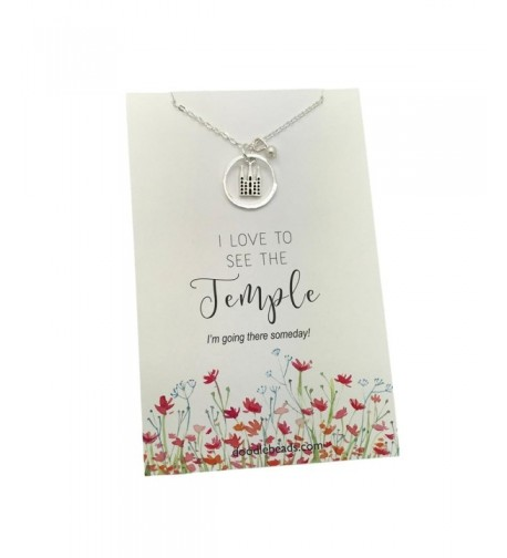 Love See Temple Necklace Adjustable