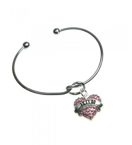 Design Classic Silvertone Bangle Bracelet