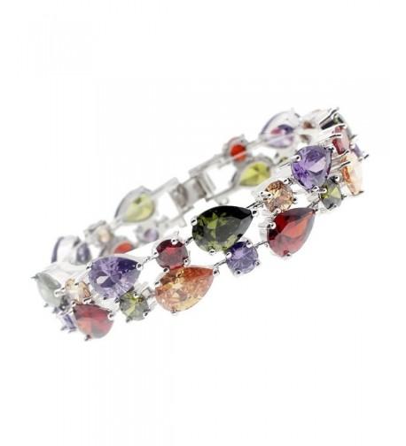 Bracelets Gemstone Sterling Silver Morganite