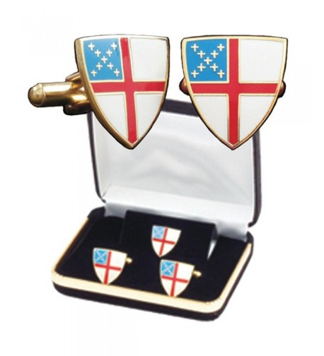 B 42 C Episcopal Shield Cuff Lapel