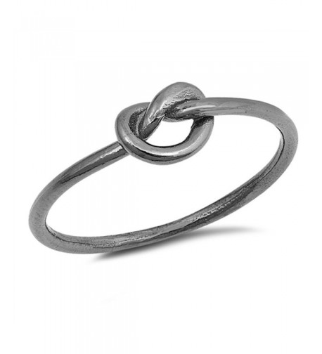 Black Tone Promise Sterling Silver RNG17665 7