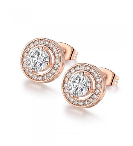 VOLUKA Particular Crystal Diamond Earrings