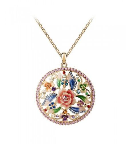 RARITYUS Necklace Austrian Swarovski Zirconia Fashion Jewelry