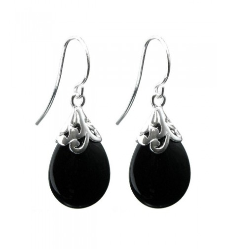 Dreambell Sterling Filigree Teardrop Earwire