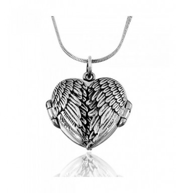 Oxidized Sterling Silver Pendant Necklace
