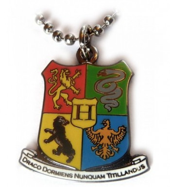 Harry Potter Hogwarts Pendant Necklace