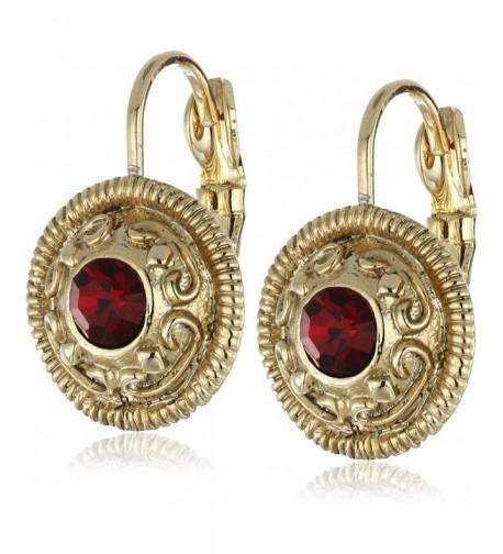 1928 Jewelry Gold Tone Drop Earrings