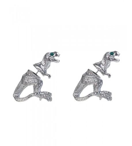 Sexy Sparkles Dinosaur Earrings Rhinestones