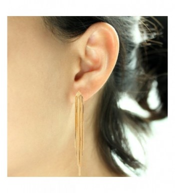 f70ba1b72 Available. Sleek Chain Tassel Earrings Lovey; Women's Drop & Dangle Earrings;  Earrings Online Sale