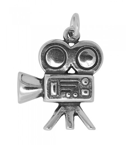 Sterling Silver Movie Camera Approximately