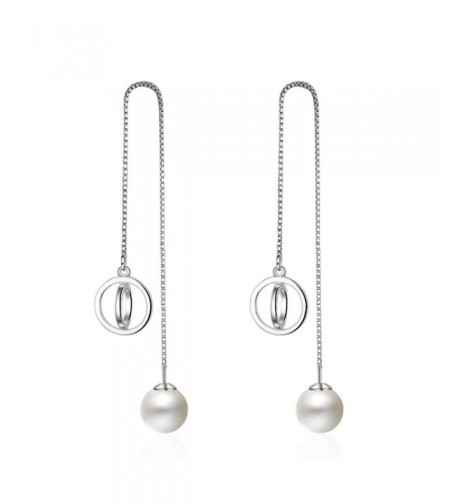 Womens Sterling Silver Tassel Earings