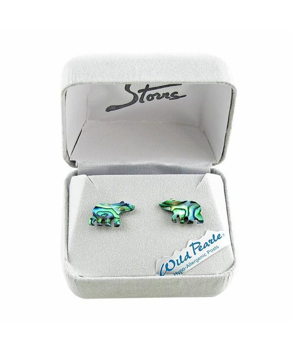 Storrs Handmade Abalone Earrings E8511217