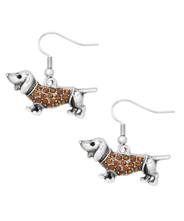 Liavys Wiener Dog Fashionable Earrings