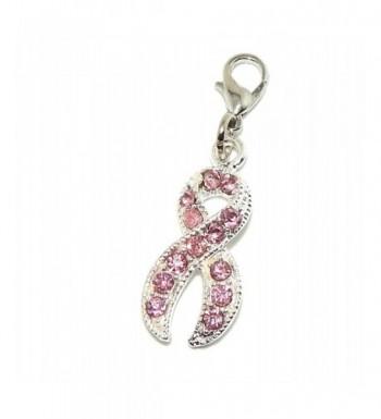 Jewelry Monster Crystal Awareness Ribbon