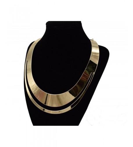 MOOCHI Plated Creative Design Necklace