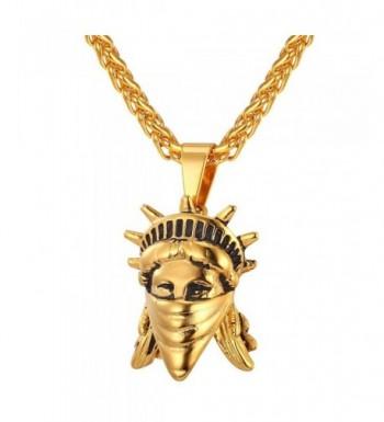 U7 American Liberty Pendant Necklace