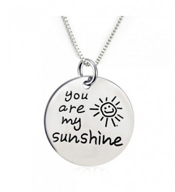 Sunshine Pendant Necklace chain included