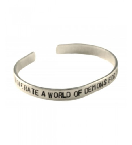 Tolerate World Demons Doctor Bracelet