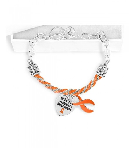 Multiple Sclerosis Awareness Partial Bracelet