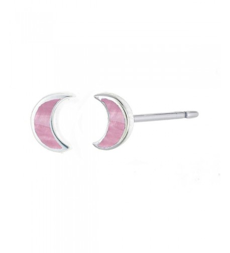 Boma Sterling Silver Crescent Earring