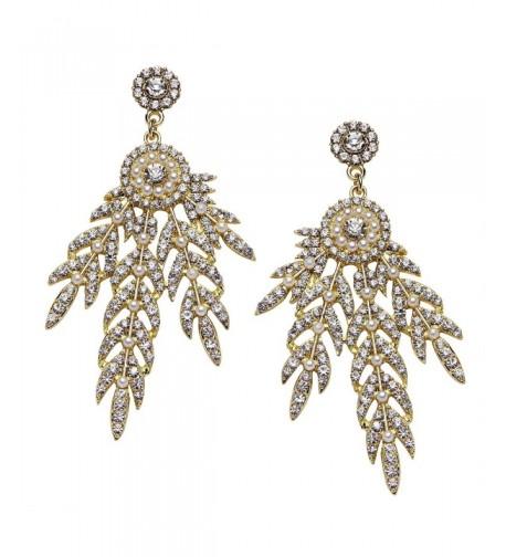 BABEYOND Flapper Inspired Medallion Earrings