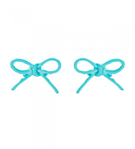 ACCESSORIESFOREVER Adorable Fashion Earrings Turquoise