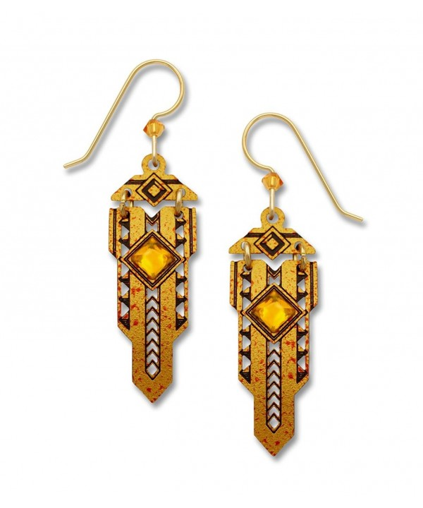 Adajio Sienna Golden Earrings 7670
