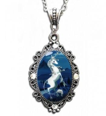 Alkemie Unicorn Pendant Necklace Sparkles