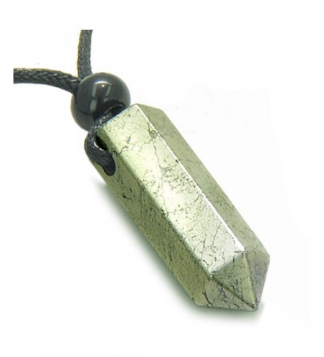 Amulet Crystal Healing Pendant Necklace