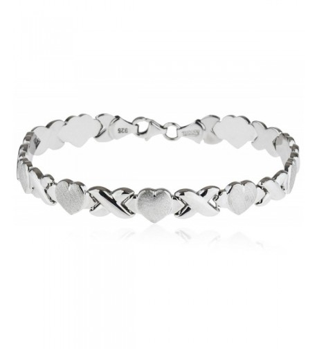 SilverLuxe Rhodium Plated Sterling Bracelet