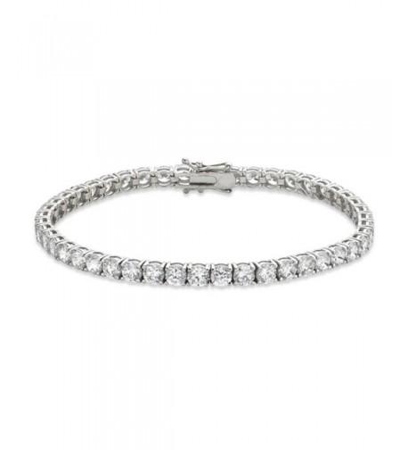 Venetia Realistic Simulated Diamond Bracelet