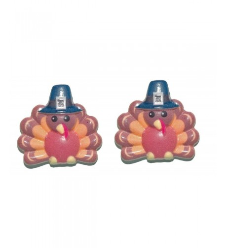 Turkey Pilgrim Thanksgiving Earrings H293
