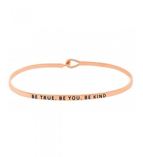 Inspirational Positive Message Engraved Bracelet