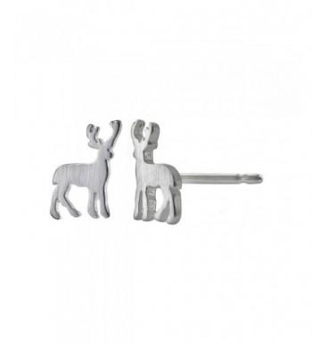 Boma Sterling Silver Matte Earrings