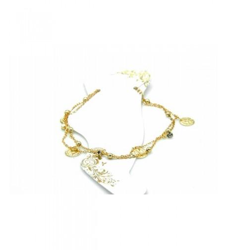 Coins Fashion Ankle Bracelet Ladies