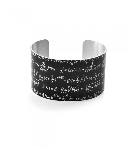 Math Bracelet Equation Chalkboard Aluminium
