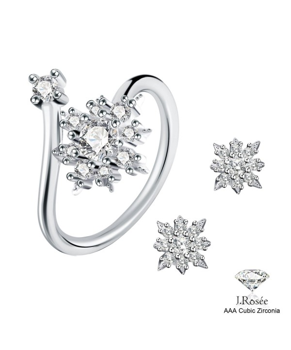 Earrings Sterling J Rose Jewelry Adjustable