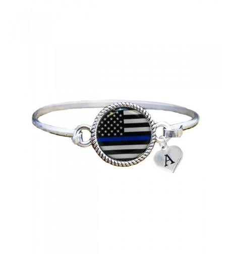Custom Appreciation Bracelet Jewelry Initial