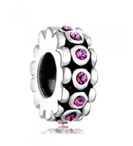 LovelyJewelry Purple Birthstone Crystal Bracelet