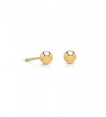 Gold Earrings Extra Small yellow gold