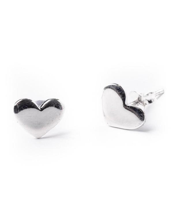 81stgeneration Womens Sterling Silver Earrings