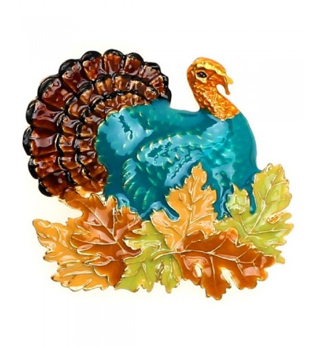 Lova Jewelry Foliage Thanksgiving Enameled