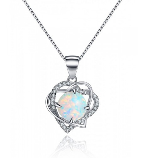 Necklace Birthstone Valentines Anniversary Girlfriend