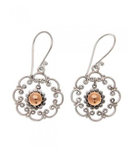NOVICA Sterling Earrings Delightful Denpasar